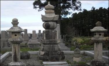 大栄寺・溝口家墓所